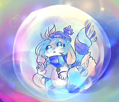 Bubble by IceBluu