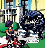 Venom is bored. by MisterFear