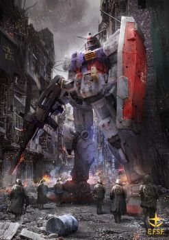 One Year War: RX-78 by theDURRRRIAN