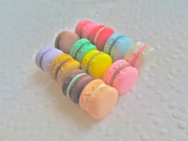 Assorted Macarons 2 by AGTCT