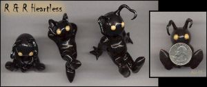 """""""R and R Heartless"""" Figurines by Rebmakash"""
