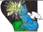 ACEO:Silverfang by Forta1996
