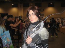 Toronto ComiCON 2014-Katniss by VentusSkyress14