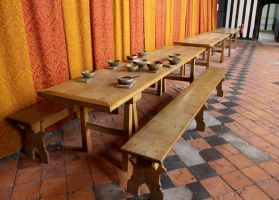 Banqueting Table 1 by fuguestock