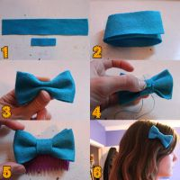 Hairbow/Bowtie How to by loveandasandwich