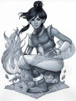 Korra by chrissie-zullo