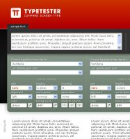 Type Tester by Designcollage