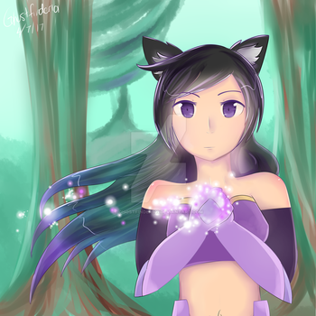 Meif'wa Aphmau [Dreams of Estorra] by ChronoWither
