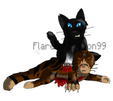 Tigerstar's Death by SuperSonicFireDragon