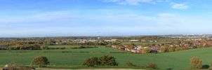 View from Sandal Castle by Slug22