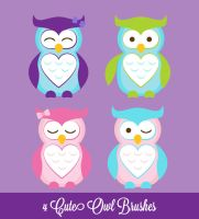 Owls Danasbrushes.abr by danasbrushes