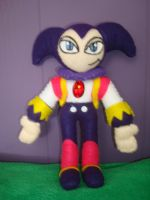 NiGHTS plushie front by NiGHTSfanKevin