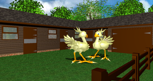 Chocobo Dance Motion Data + DL by Valforwing