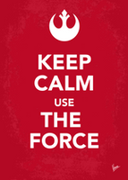 My Keep Calm Star Wars - Rebel Alliance - poster by Chungkong