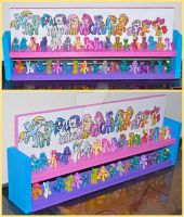 My Little Pony Blind Bag Toy Shelf Updated by bapity88