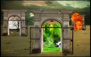 A gate to paradise by 7iss-fini
