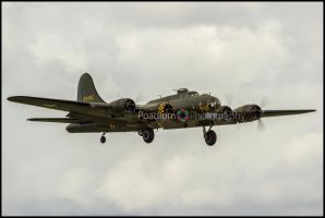 'Sally B' Boeing B-17 Flying Fortress by PoadiumPhotography