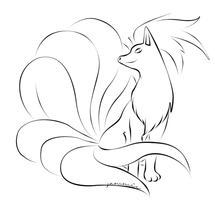 Ninetails Draft by ensnarings