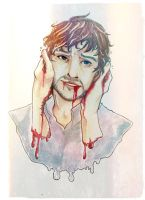 Hannibal - Mizumono : Will Graham by candycoated-AI