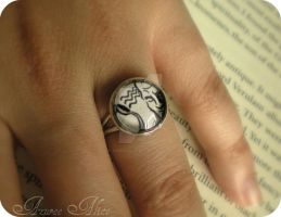 Telekinesis Plasmid Ring by AzureeAlice
