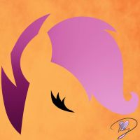 Minimalist Scootaloo by Because-Im-Pink