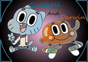 Gumball and darwin by LittleThingsCxD