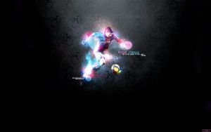Lionel Messi by Xeins