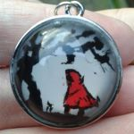 Red Riding Hood pendant by alfangore