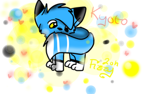 Kyoto be biting his tail. by CuteFluffyKitty