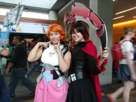 Ruby and Nora by Moogleborg