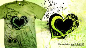 Who wants this heart? T-SHIRT by leozerosty