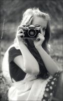 camera_girl by marymarycherry