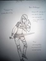 Tagged: Pen Challenge by oshirockingham