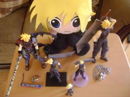 My Cloud Strife Collection by Strifegirl