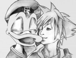 donald and sora kh2 by laura-93