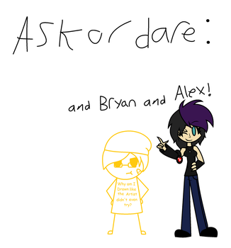 Ask cover (ALMOST DONE) by FunnyBoneSans