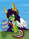Happy easter 2014 by dragonrace