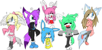 Mixed Sonic Adoptables +OPEN+ by BlueGreenMagic