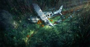 Crashed Plane by JoakimOlofsson