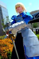 Otakon 2011 Saber by DarkGyraen