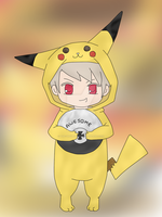 Pikaprussia. -awesome- by The-Unf0rgiv3n