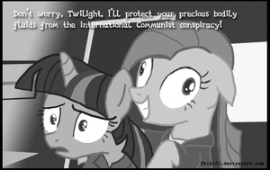 Pinkie Pie's Anti-Communist Protection by Shiki01