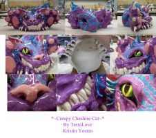 Creepy Cheshire Cat complete by TerraLove
