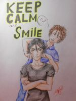 Keep calm and smile c: by ProNastya
