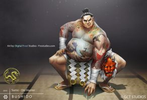 Sumo Oni Hunter by FROSTconcepts