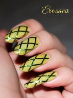 Lime nails by eresseayesta