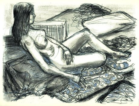 Life Drawing Print 1 by gojo730