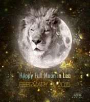 Full Moon in Leo by AVAdesign