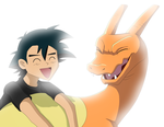 Sharing a Laugh by IcelectricSpyro