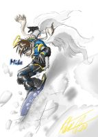 SD Snowboarder Mike by CrazyAsian1